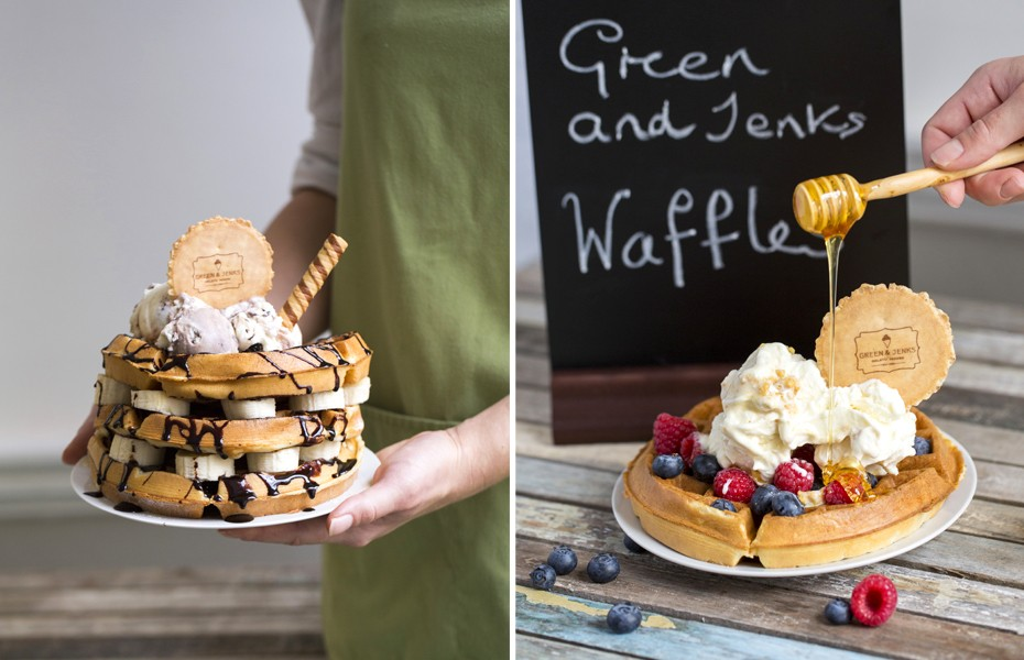 Food photography in Monmouthshire, South Wales