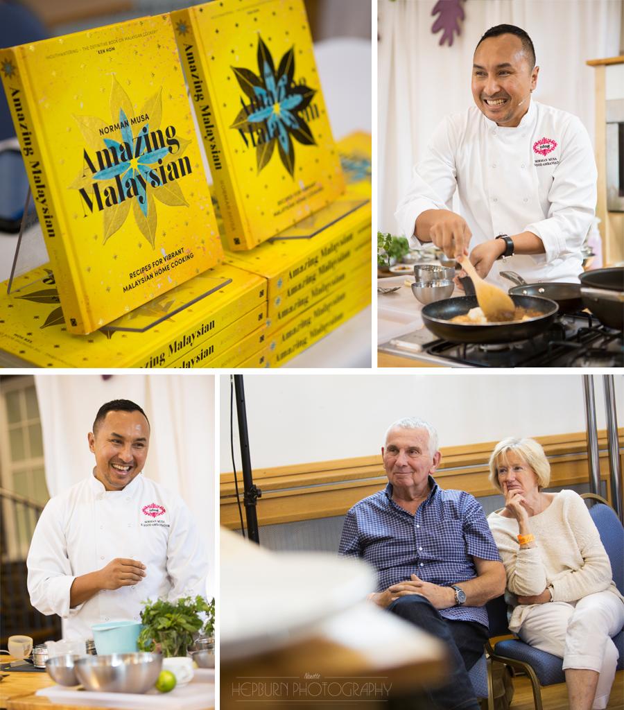 Abergavenny Food Festival Norman Musa