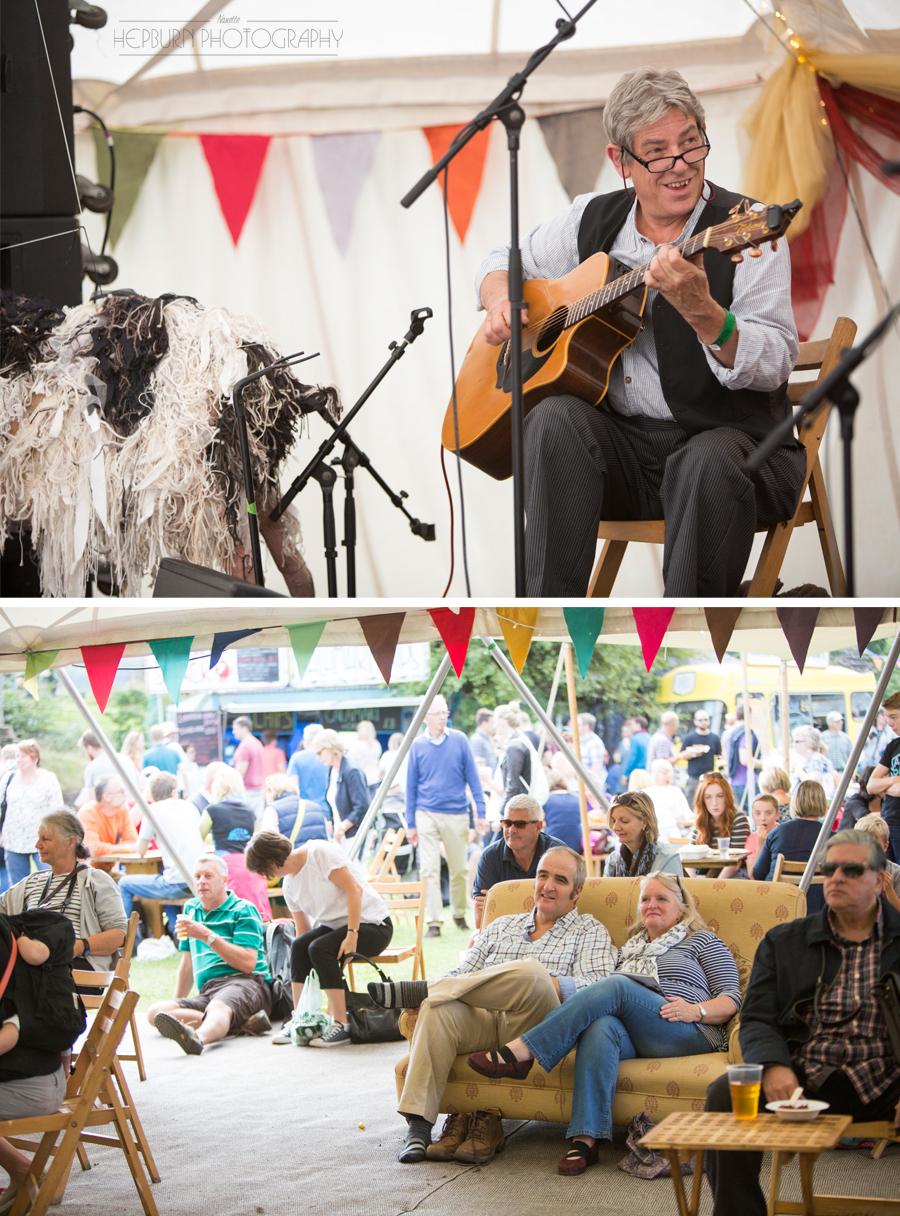 Abergavenny Food Festival 2016 castle
