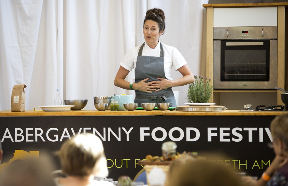 Abergavenny Food Festival event photographer hepburn photography WALES