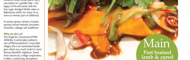 Food photography article Chef Matt Tebbutt South Wales