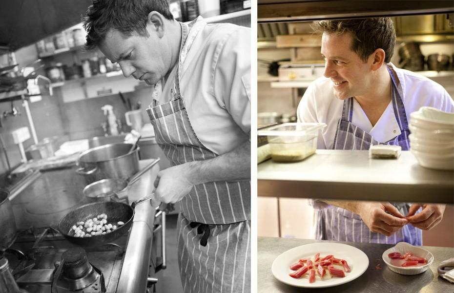 Documentary Lifestyle Food photography of celebrity Chef - Matt Tebbutt South Wales.